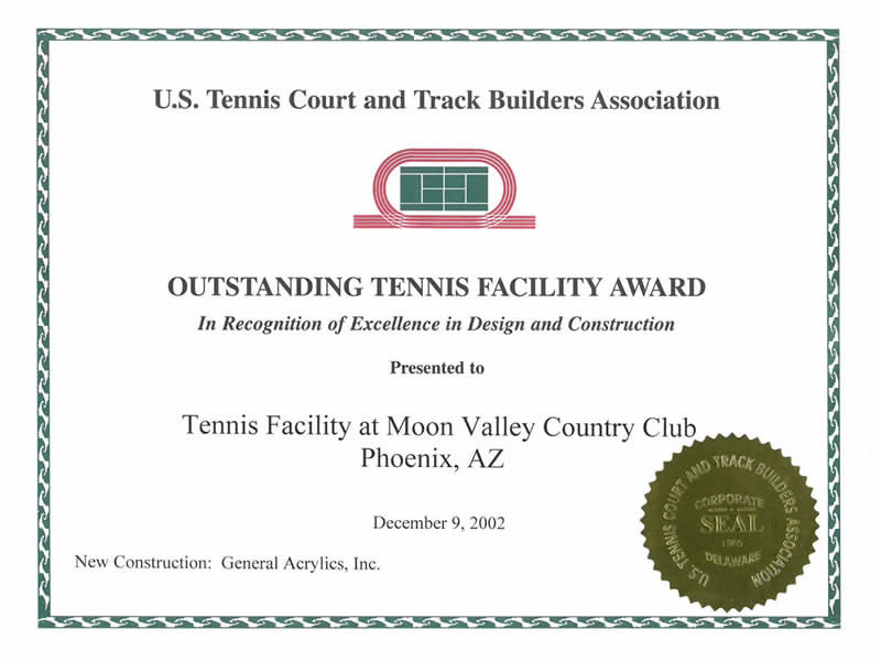 2002 Moon Valley Award