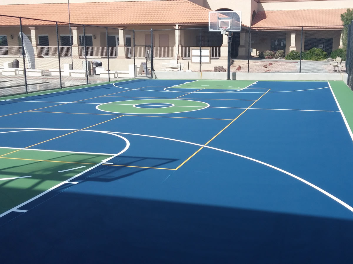 Basketball court design build general acrylics for How to build basketball court