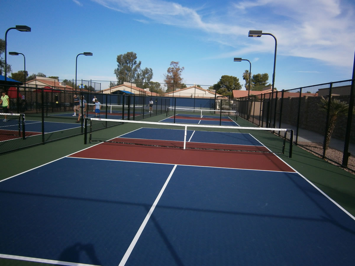 Pickleball Court Construction General Acrylics