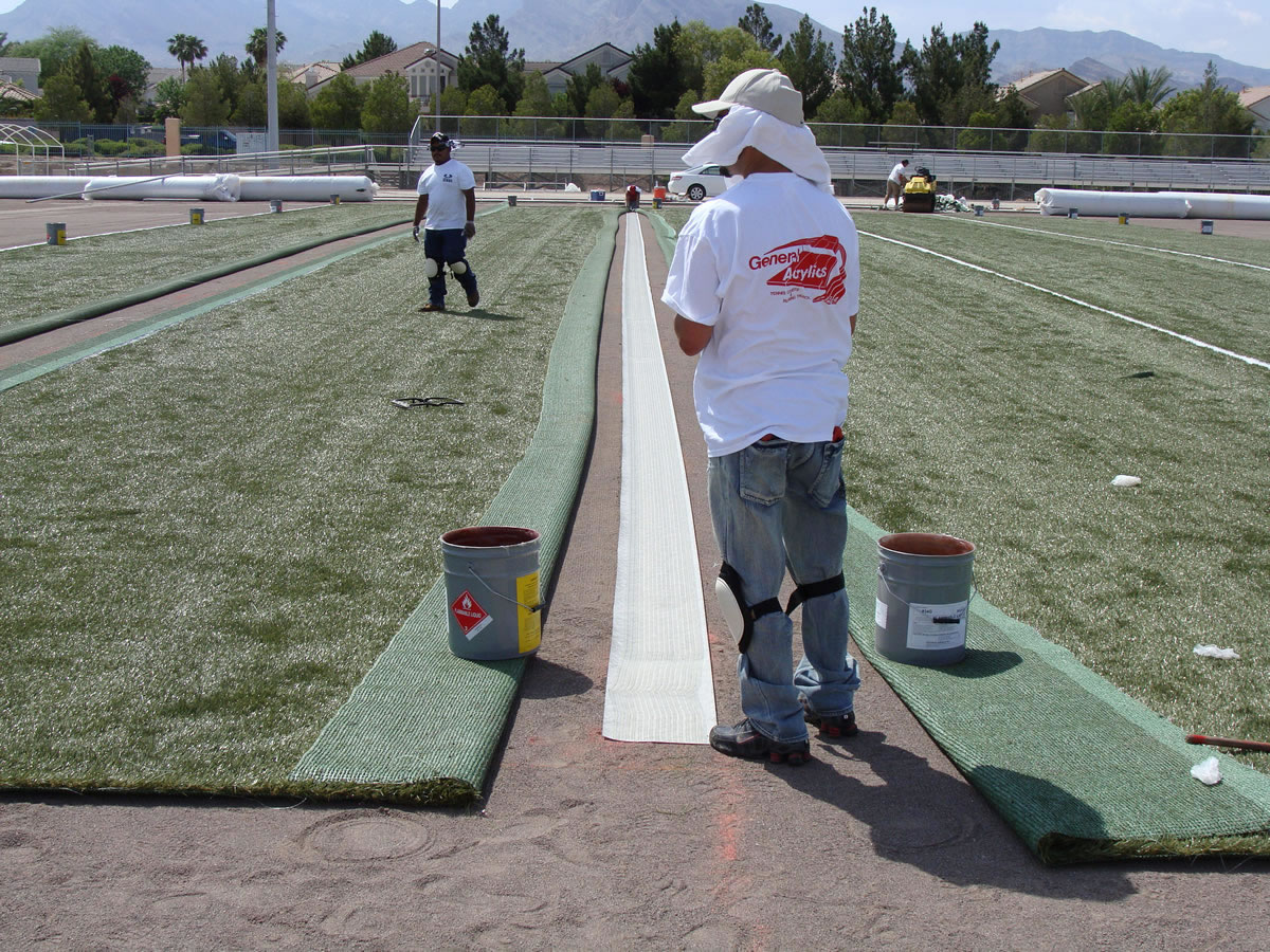 ynthetic Turf Construction Process