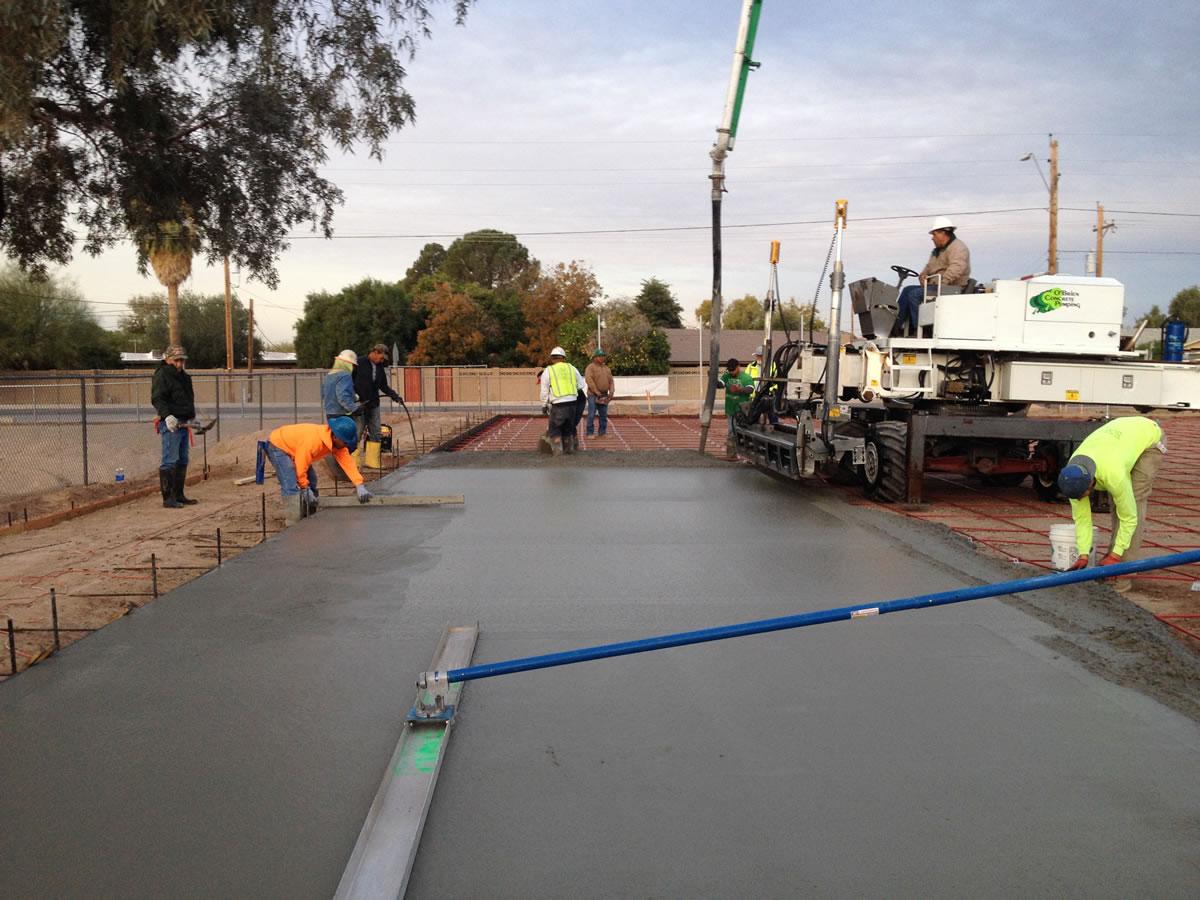 Arizona Post Tensioned Concrete Construction General Acrylics